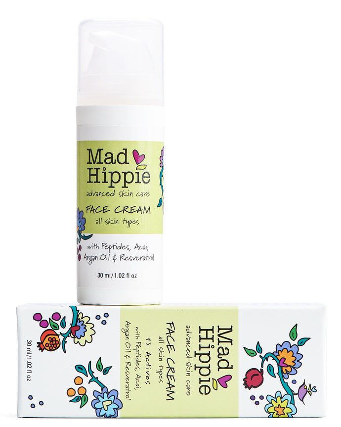 Mad Hippie, Face Cream with Peptides, 30ml