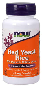 Now Foods, Red Yeast Rice, 1200 mg, 60 Tablets