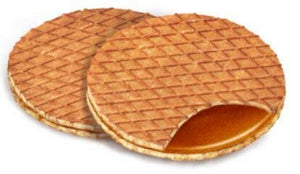 Caramel Swoffle, Organic & Gluten Free, Waffle Cookie, Box of 16 individually wrapped