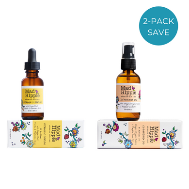 Mad Hippie Vitamin C Serum and Cleansing Oil 2 pack