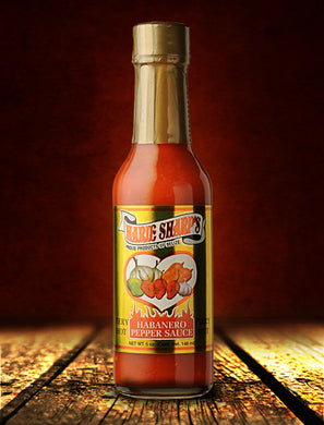 Marie Sharp's, Fiery Hot Habanero Pepper Sauce (148ml)