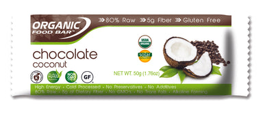 Organic Food Bar, Coconut Chocolate (50g)