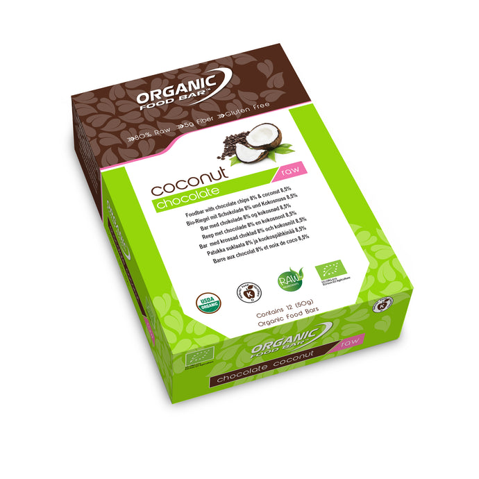 Coconut Chocolate box of 12 - closed box