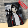 Pet Creatives Graph Dracula - Custom Pet Canvas