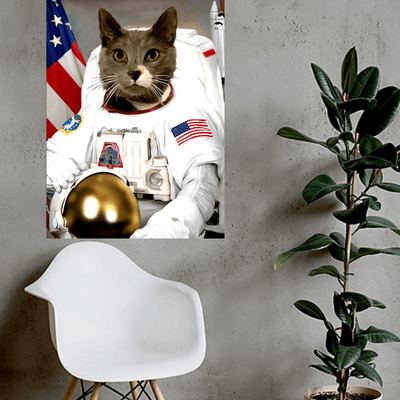 Pet Creatives The Astronaut - Custom Pet Canvas