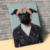 Pet Creatives THE BAD GIRL - Custom Pet Canvas