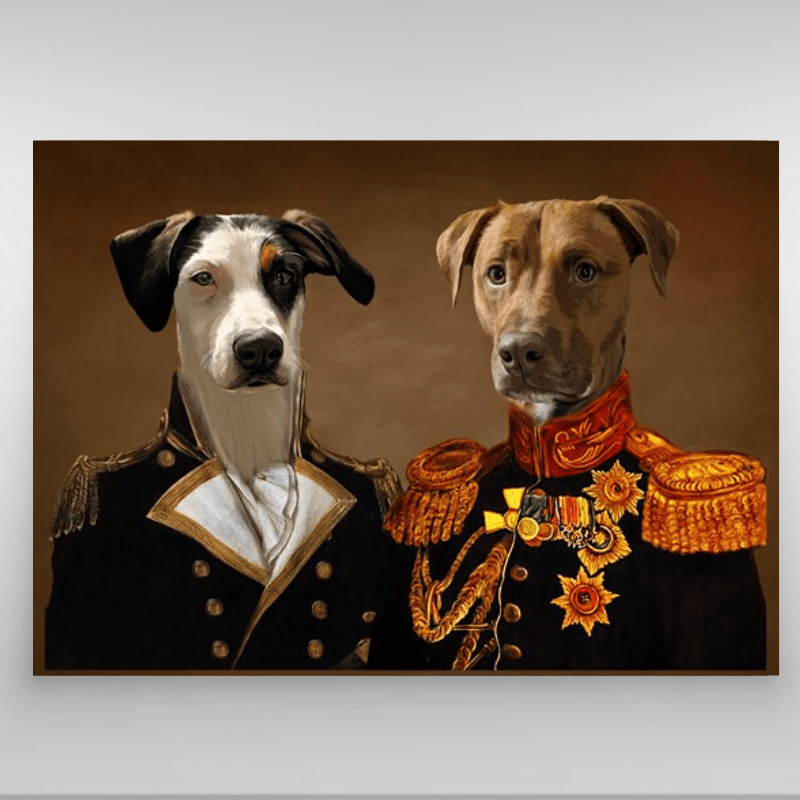 Pet Creatives THE BROTHERS IN ARMS