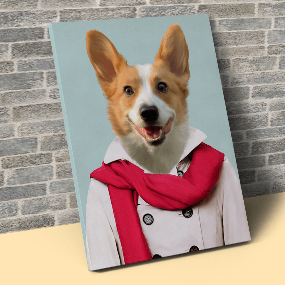Pet Creatives THE CASUAL LADY - Custom Pet Canvas