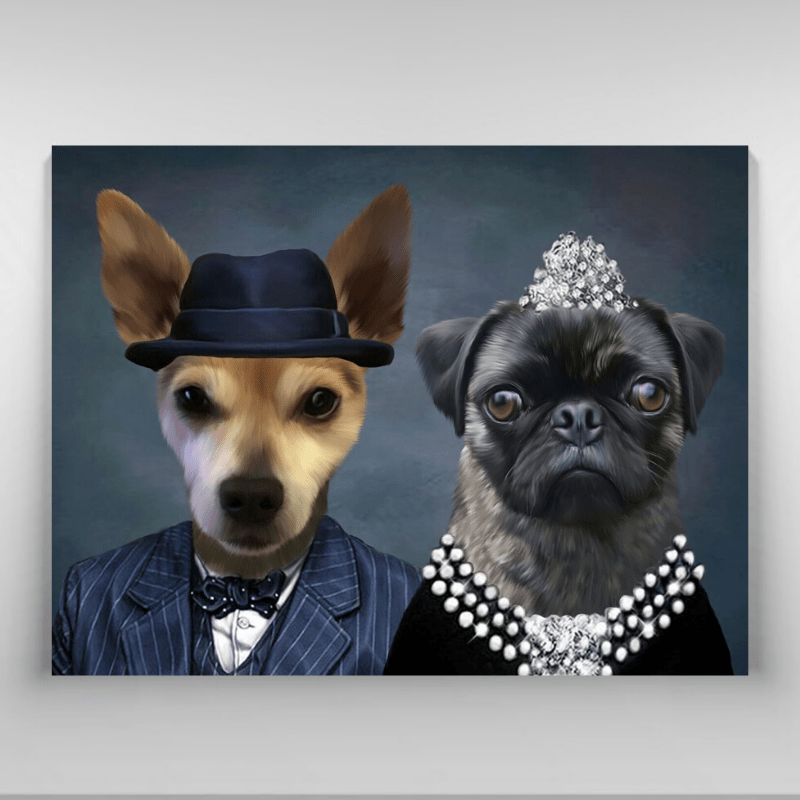 Pet Creatives THE CLASSY COUPLE