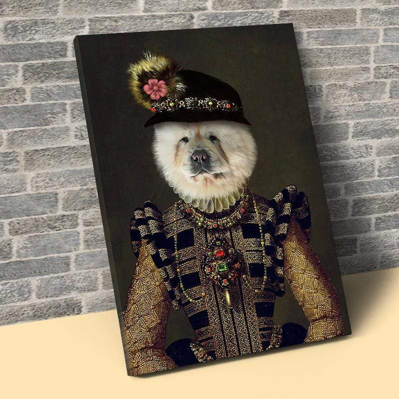 Pet Creatives The Dame - Custom Pet Canvas