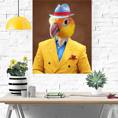 Pet Creatives The Dandy - Custom Pet Canvas