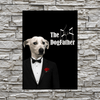 Pet Creatives The Dogfather - Custom Pet Canvas