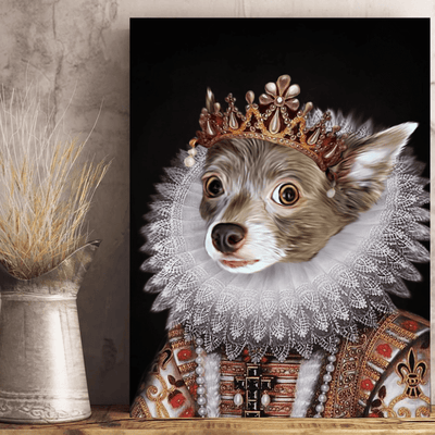 Pet Creatives The Empress - Custom Pet Canvas