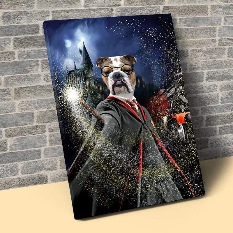 Pet Creatives The Harry Pawter - Custom Pet Canvas