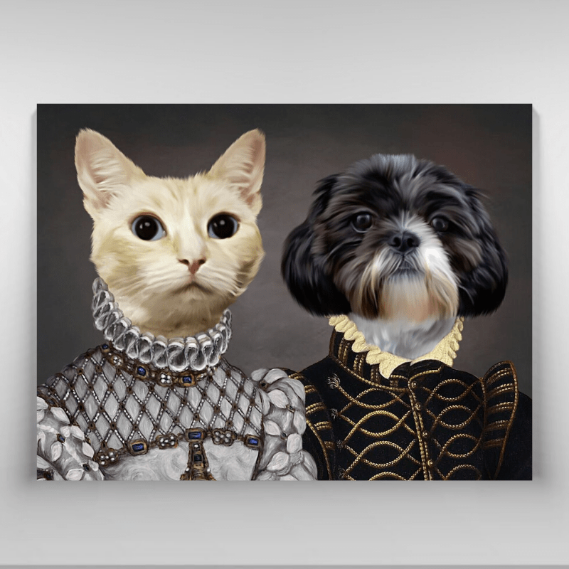 Pet Creatives THE LORD AND LADY