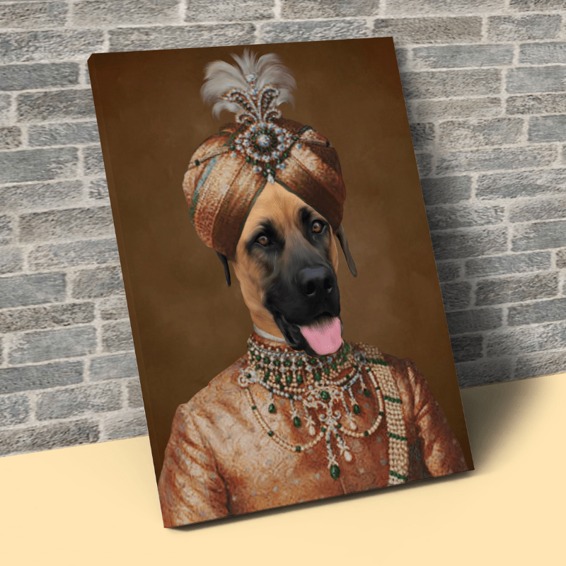 Pet Creatives The Maharaja - Custom Pet Canvas