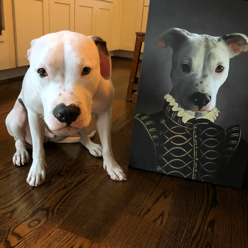 Pet Creatives The Noble - Custom Pet Canvas