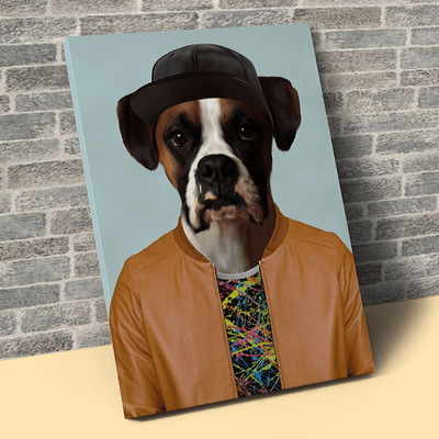 Pet Creatives The Popular Guy - Custom Pet Canvas
