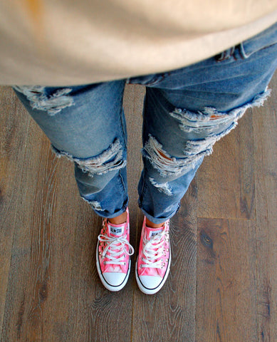 992ba983220d Coral Pink Tye Dye Low Top Studded Converse Model. Sold Out. Coral Pink Tie  Dye Studded Converse All Star Sneakers ...