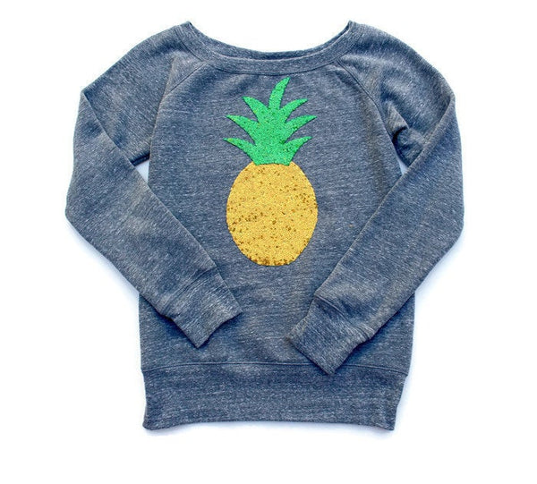 Pineapple Shirt. Sequin Pineapple Patch Sweatshirt Jumper. Pineapple Sweater. Tumblr Pineapple Shirt. Mommy and Me. Summer Fashion Fineapple