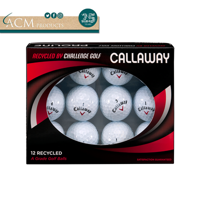 ACM Products Callaway Recycled Grade A Golf Balls (12)