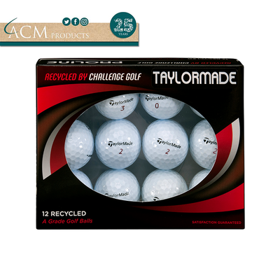 ACM Products Taylormade Recycled Grade A Golf Balls (12 Balls)