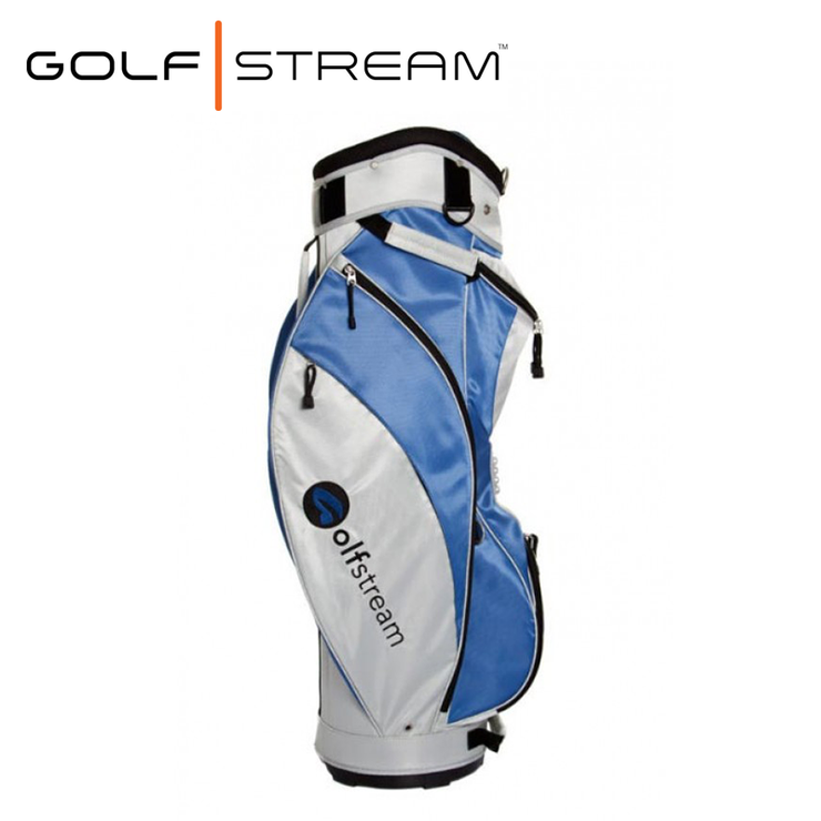 Golfstream Lite Golf Bag Blue Side2