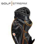 Golfstream Luxury Golf Bag LITE BLACK Side