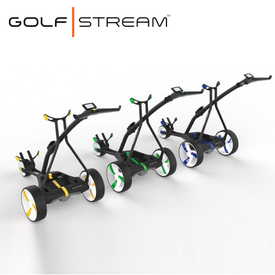 Golfstream Vision Electric Golf-Trolley Caddy Colours