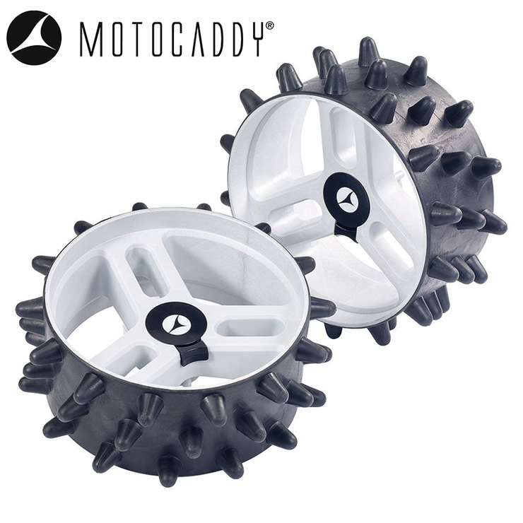 Motocaddy DHC Hedgehog Winter Wheels (Pair)