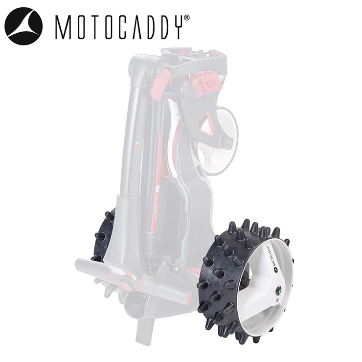 Motocaddy M-Series Hedgehog Winter Wheels (Pair)-4