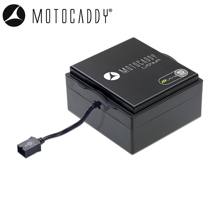 Motocaddy M-Series Extended Lithium Battery & Charger 36-Hole