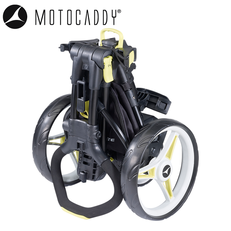 Motocaddy M1 Lite Push Trolley Folded