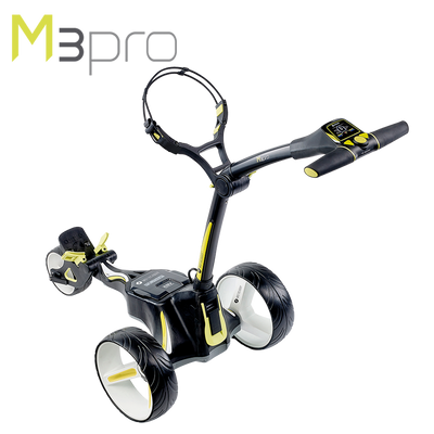 Motocaddy M3 Pro Electric Trolley Black High Angle