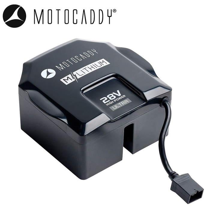 Motocaddy New M-Series 28V Lithium Battery & Charger - 36 Hole