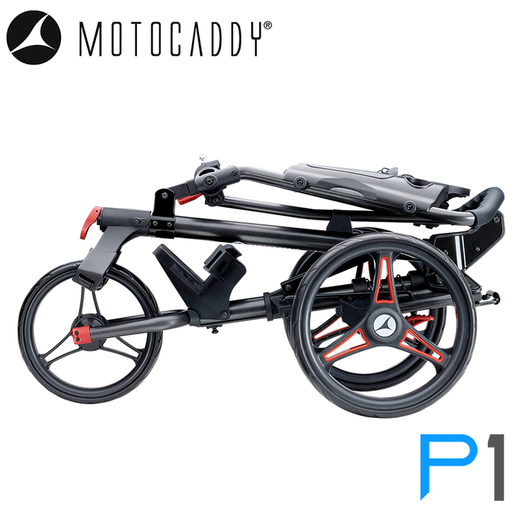 Motocaddy-P1-2020-Red-Folded