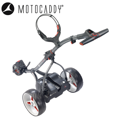 Motocaddy S1 Electric DHC Trolley Angle