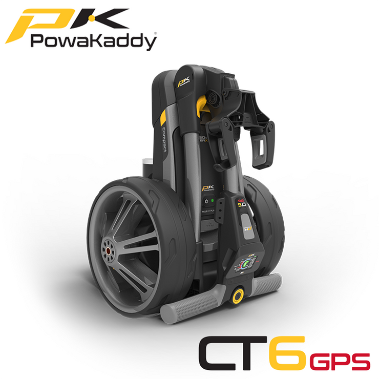 Powakaddy-CT6-GPS-Gunmetal-Metallic-Folded-Side-Angled