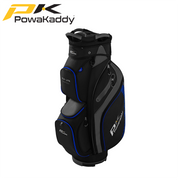 Powakaddy-DLX-Lite-Edition-Golf-Bag-Black-Titanium-Blue