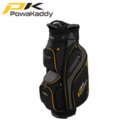 Powakaddy-DLX-Lite-Edition-Golf-Bag-Black-Titanium-Yellow