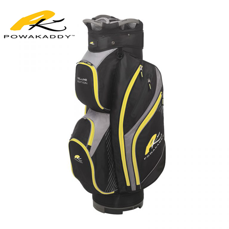 Powakaddy Deluxe Edition Golf Bag Yellow