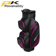 Powakaddy-Dri-Tech-Golf-Bag-Black-GunMetal-HotPink