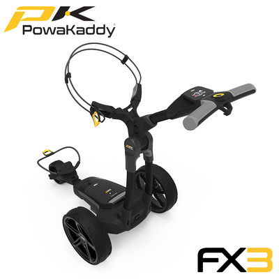 Powakaddy-FX3-Black-Side-Angle