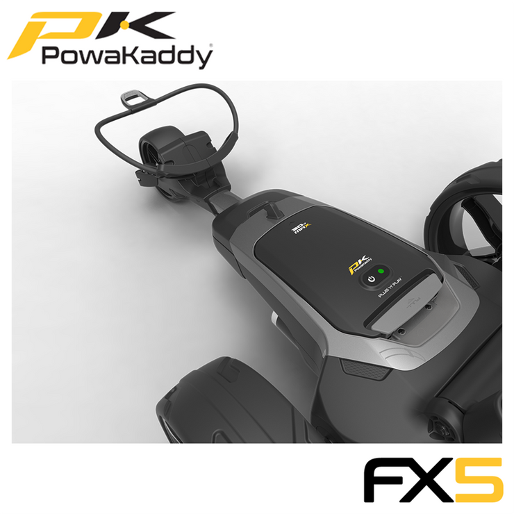 Powakaddy-FX5-Graphite-18-Hole-Battery