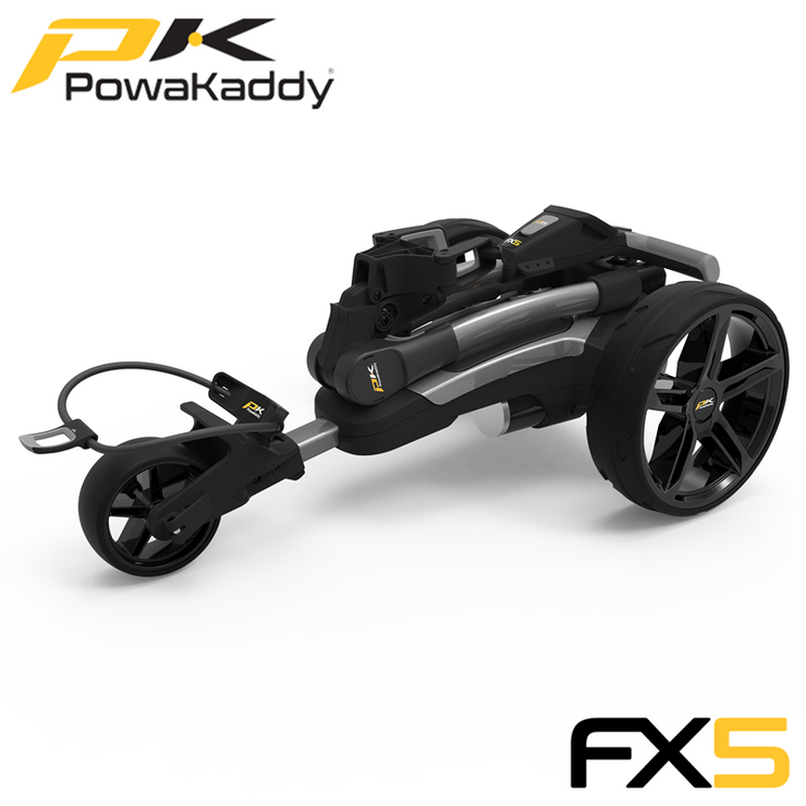 Powakaddy-FX5-Graphite-Folded