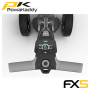 Powakaddy-FX5-Graphite-Handle-Above
