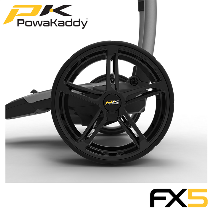 Powakaddy-FX5-Graphite-Rear-Wheel