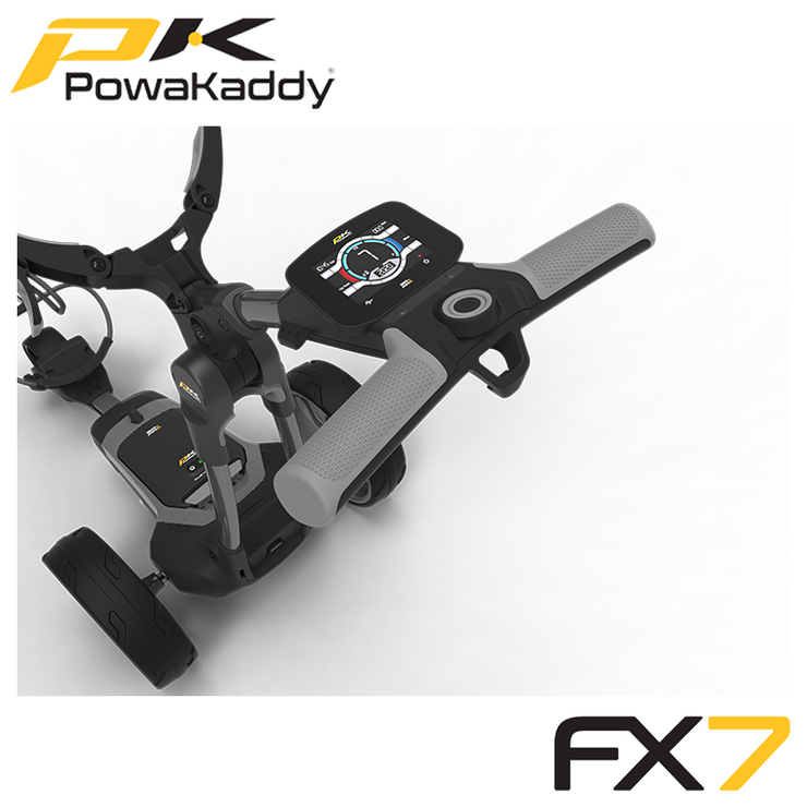 Powakaddy-FX7-Gunmetal-Metallic-Handle-2