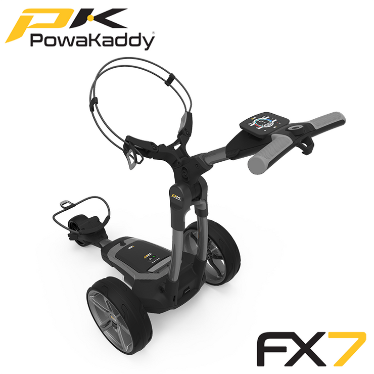 Powakaddy-FX7-Gunmetal-Metallic-High-Angle