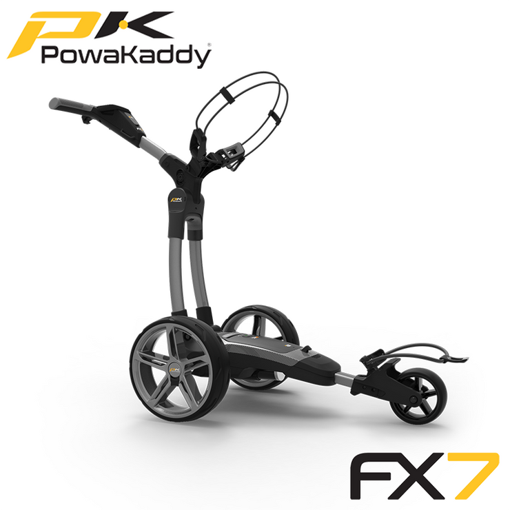 Powakaddy-FX7-Gunmetal-Metallic-Side